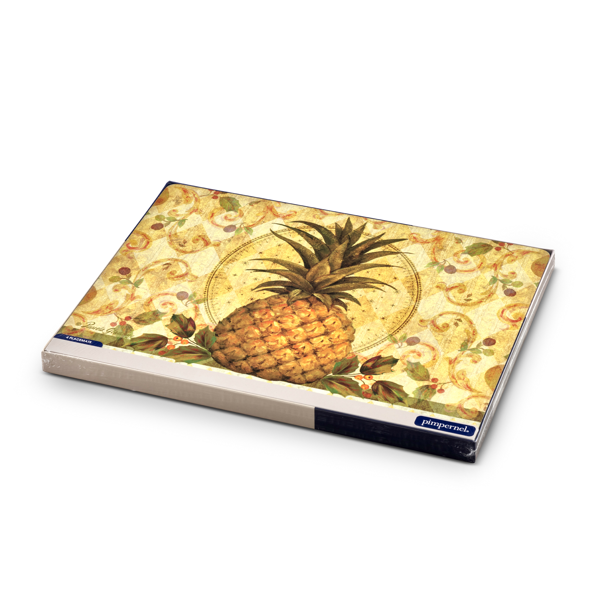 Pimpernel Golden Pineapple Placemats Set of 4 image number 4