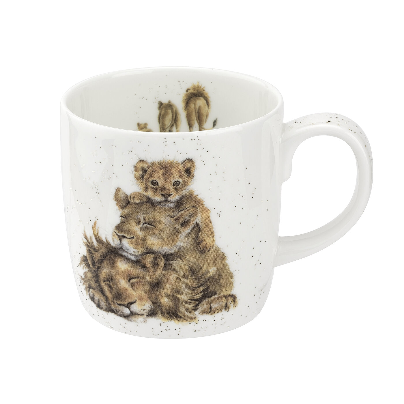 Wrendale Designs 14 Ounce Mug Family Pride (Lions) image number 0