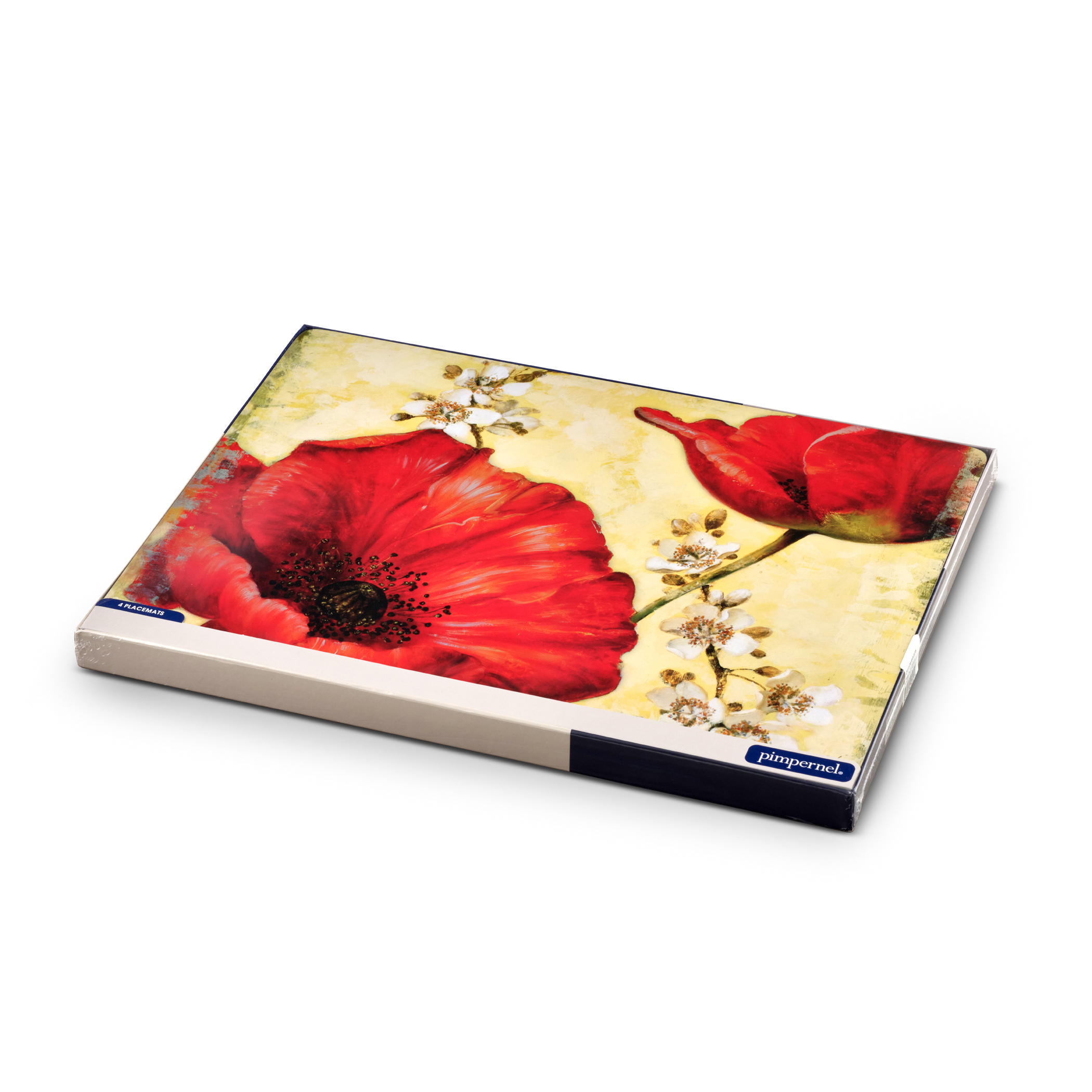 Pimpernel Poppy de Villeneuve Placemats Set of 4 image number 4