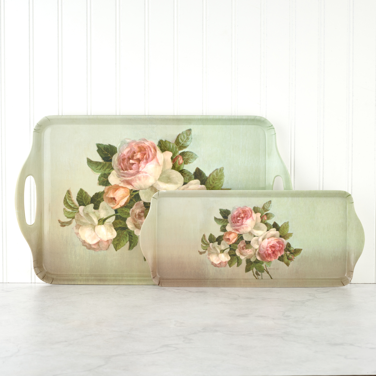 Pimpernel Antique Roses Sandwich Tray image number 3