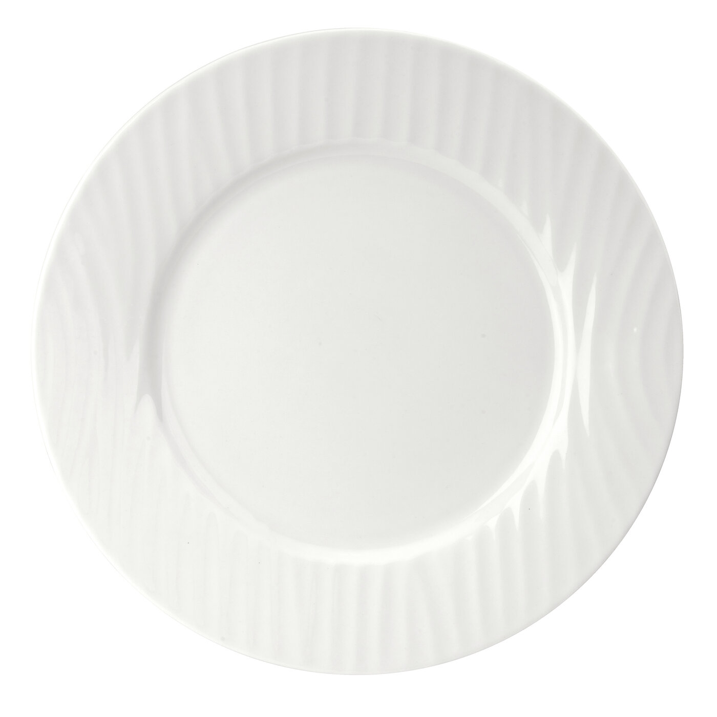 Sophie Conran for Portmeirion White Oak 11 Inch Rimmed Dinner Plate image number 0
