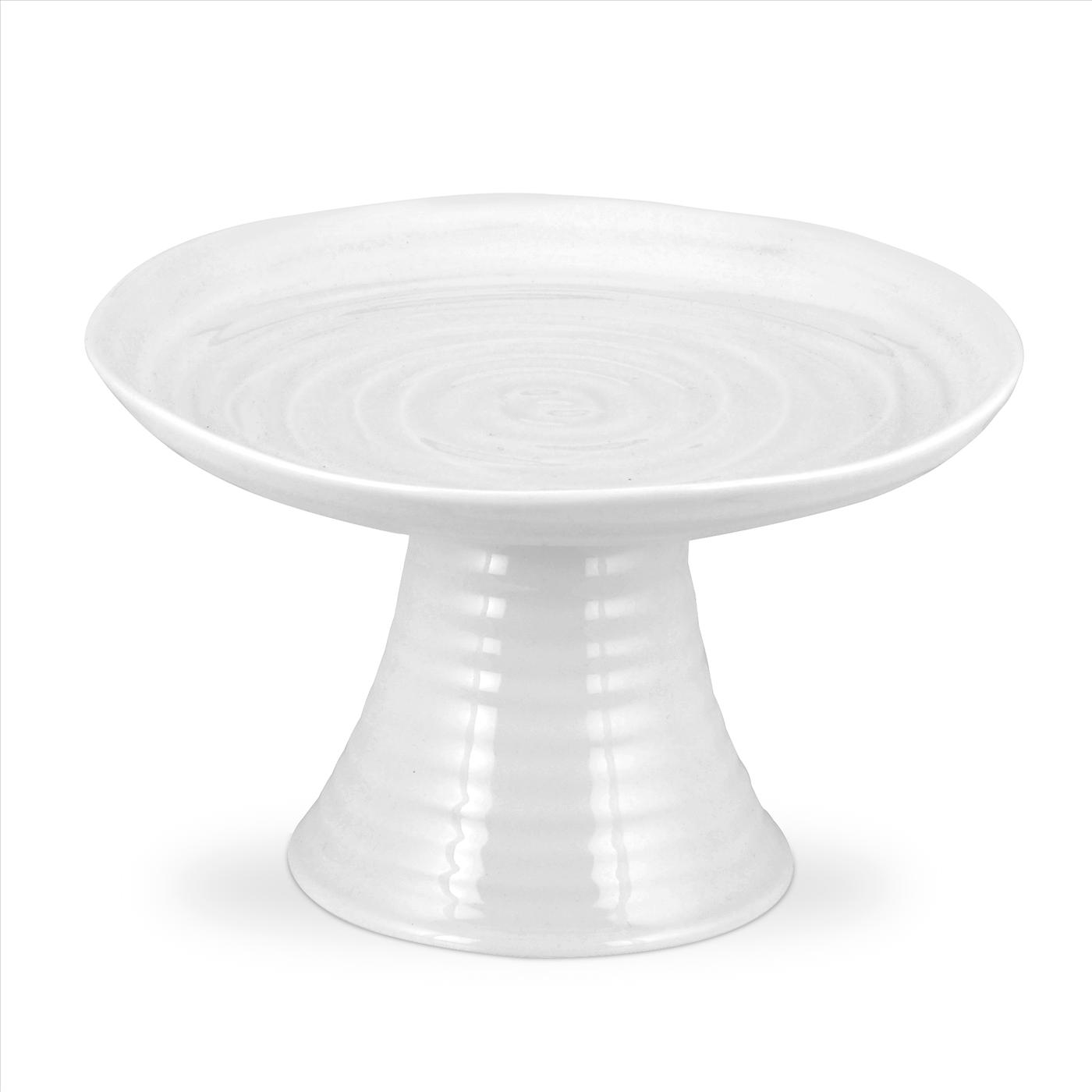 Portmeirion Sophie Conran White Mini Cake Stand image number 0