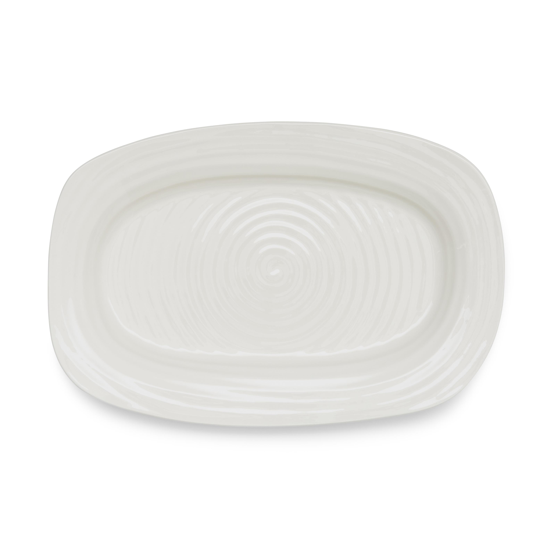 포트메리온 '소피 콘란' 샌드위치 접시 Portmeirion Sophie Conran White Sandwich Tray