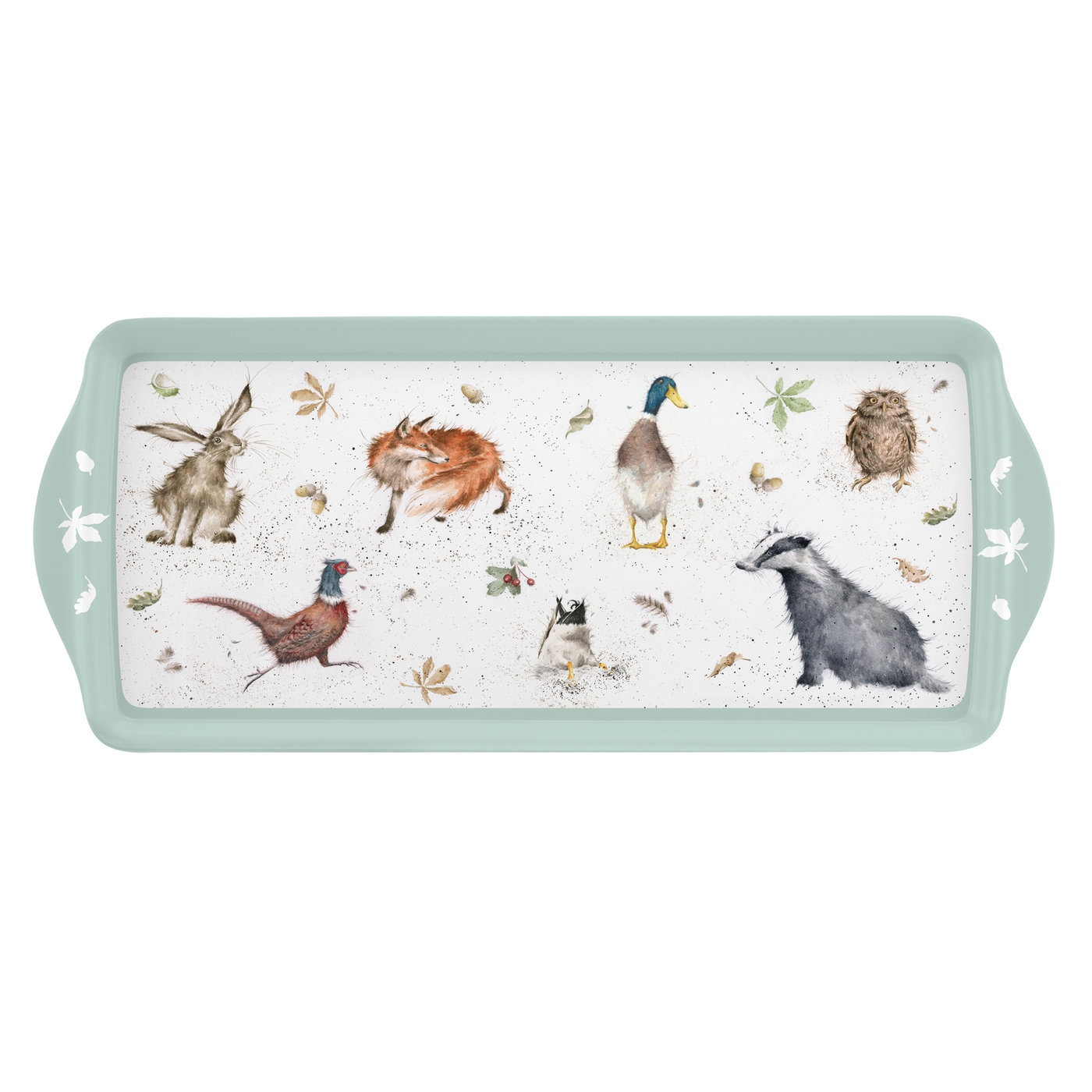 Pimpernel Wrendale Designs Melamine Sandwich Tray image number 0