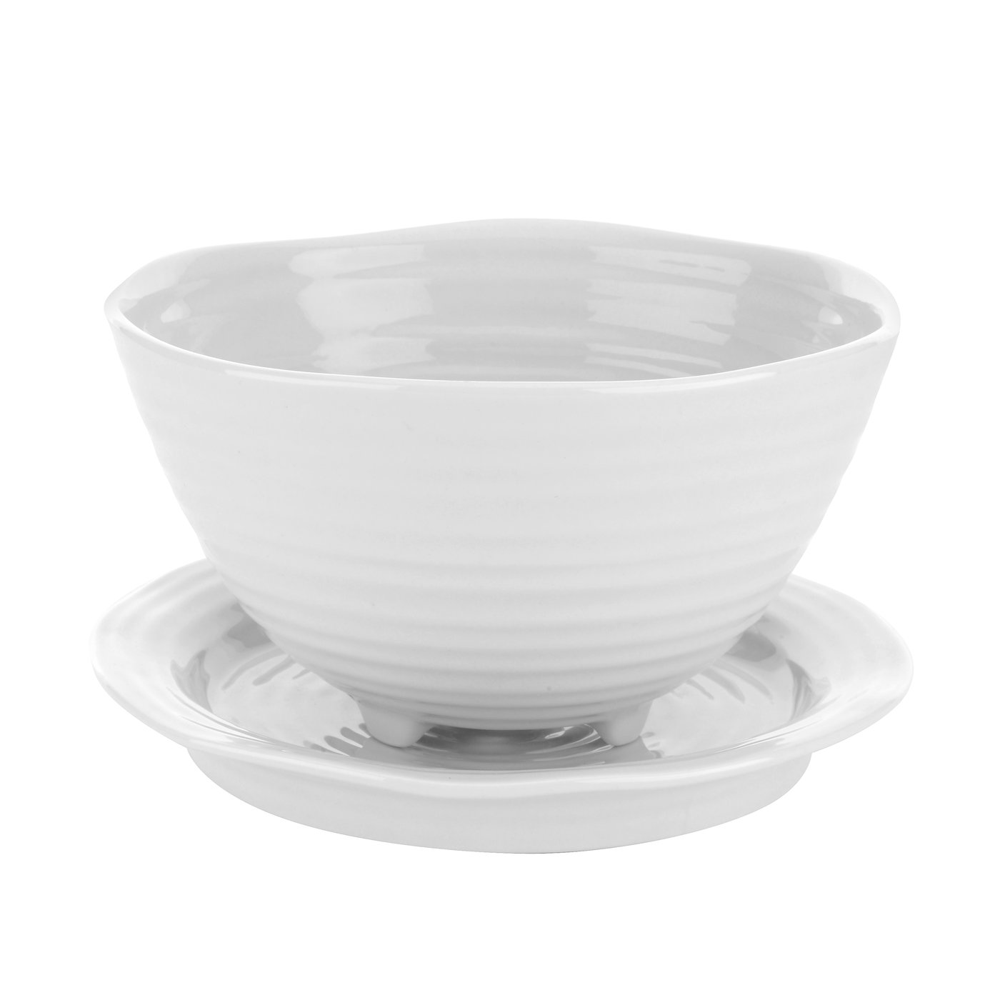 포트메리온 '소피 콘란' 베리 볼 앤 스탠드 Sophie Conran for Portmeirion White Berry Bowl and Stand