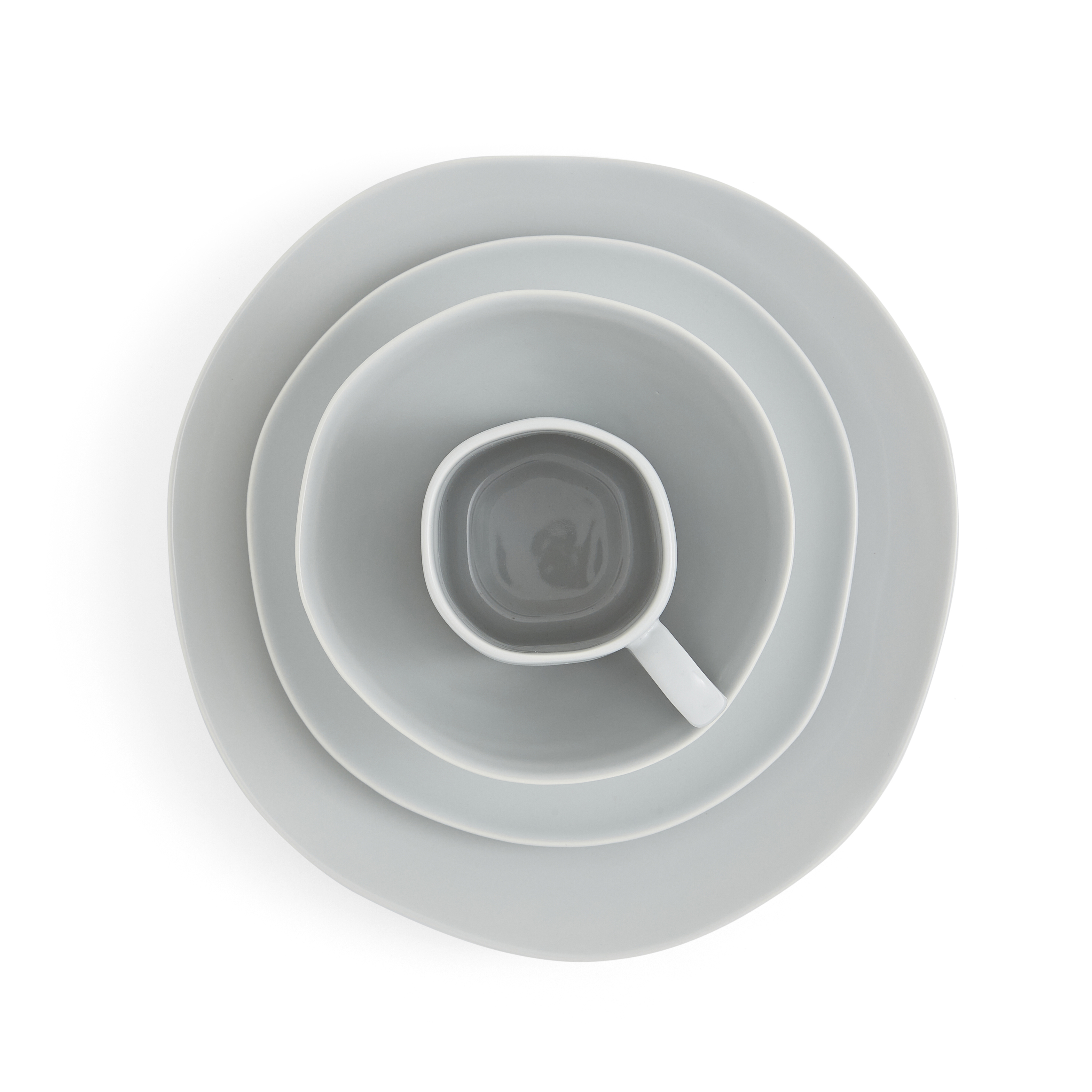 Sophie Conran Arbor 4 Piece Place Setting- Dove Grey image number 1