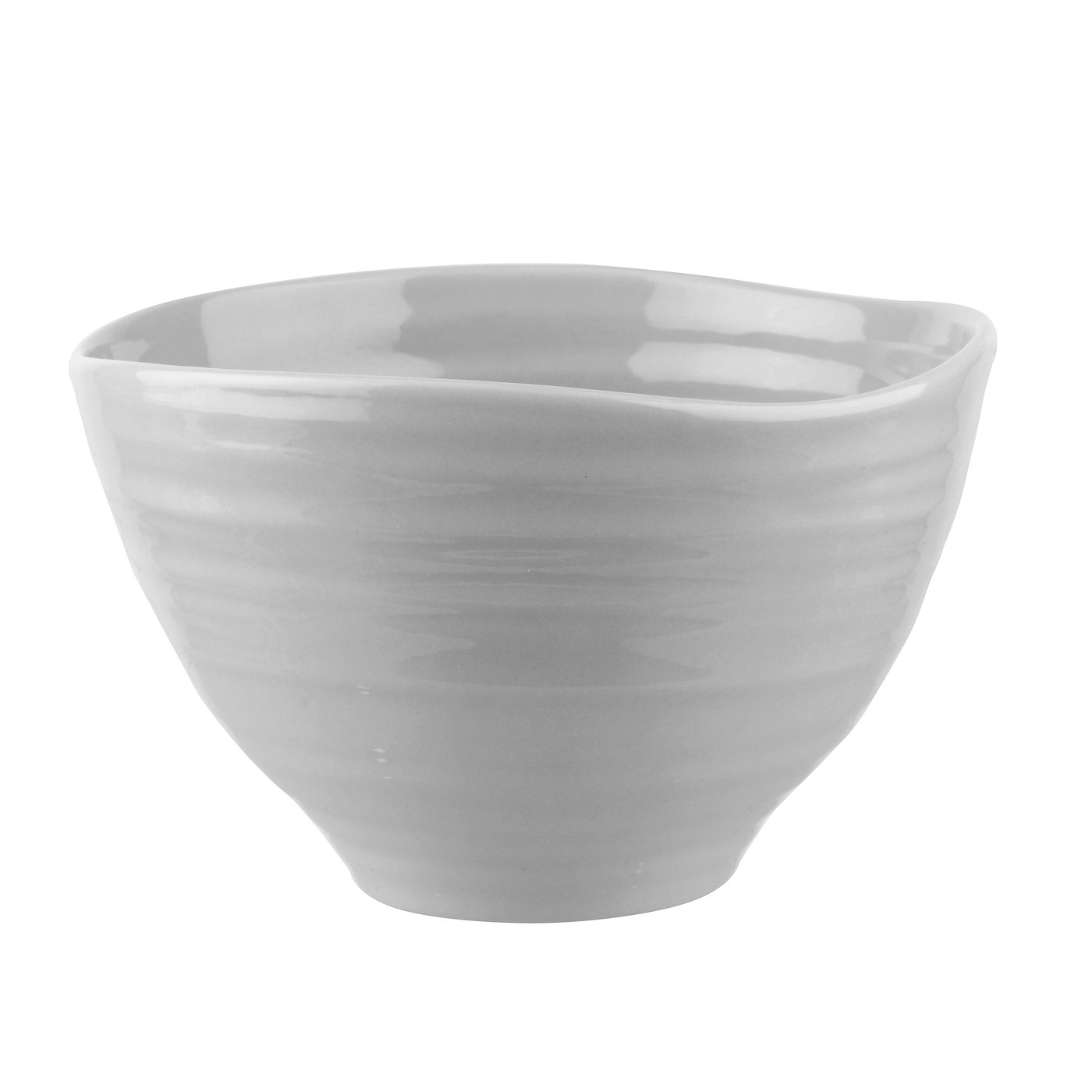 포트메리온 '소피 콘란' 스몰 볼 4개 세트 Portmeirion Sophie Conran Grey Set of 4 Small Footed Bowls