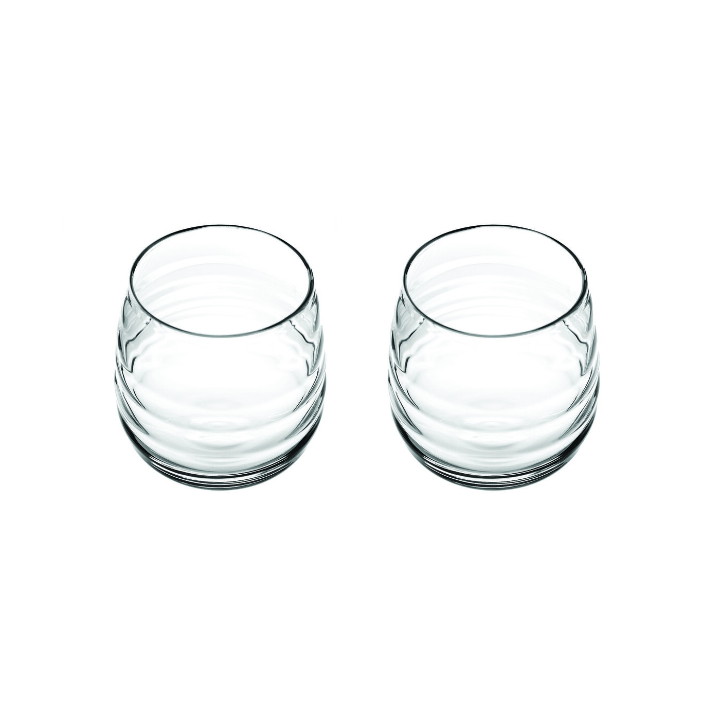 Portmeirion Sophie Conran Glassware Set of 2 Double Old Fashioneds (Balloon Glass) image number 0